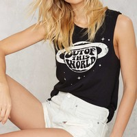 Social Decay Out of This World Muscle Tank