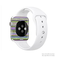 The Colorful Knit Pattern Full-Body Skin Set for the Apple Watch