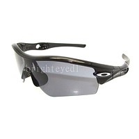 Authentic OAKLEY Radar Path Black Sunglasses 09-670 *NEW*