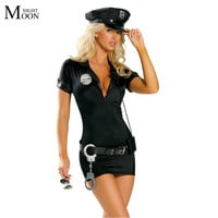 Sexy Policewoman Costume carnival Party cosplay Police halloween costumes for women