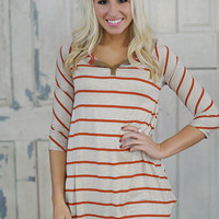 Think About It Tunic (Red) - Piace Boutique