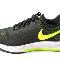Nike Women's Zoom Pegasus 31 Black/Volt Running Shoes 654486 007