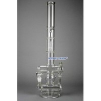 "24"" HighEnd Standing Double Inline with 5 Arms Tree Glass Bong - HighEnd - 224.99 US and Canada"