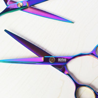 Purple Titanium 6.0 Inch High Quality Shears