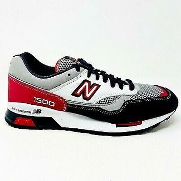New Balance 1500 Elite Riders Club Grey Red White Mens Sneakers CM1500AN