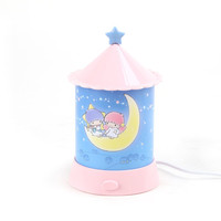 Little Twin Stars Room Lamp: Crescent Moon