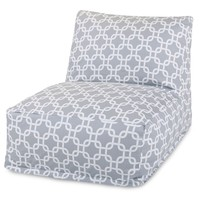Gray Links Bean Bag Chair Lounger