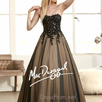 Subtle Sweetheart Neckline Prom Ball Gown By Mac Duggal 62107H