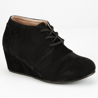 Yokids Nicole Girls Wedges Black  In Sizes