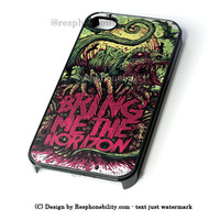 Bring Me The Horizon Coffin iPhone 4 4S 5 5S 5C 6 6 Plus Case , iPod 4 5 Case , Samsung Galaxy S3 S4 S5 Note 3 Note 4 Case , and HTC One X M7 M8 Case
