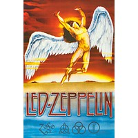 Led Zeppelin Swan Song Poster 24x36