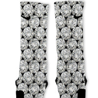 Diamonds Customized Nike Elite Socks