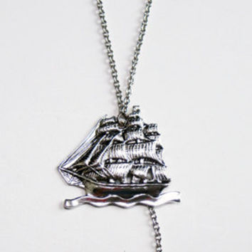 $28.00 Anchored Down Necklace by Leviticus on Etsy