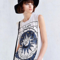 Hot sale loose print sun Cotton T-shirt