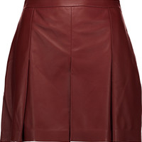 Pleated leather shorts   Proenza Schouler   US   THE OUTNET