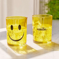Smile Glass - Set Of 2   Urban Outfitters