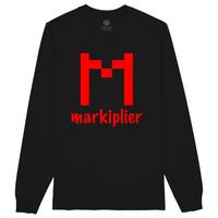 Markiplier Logo Long Sleeve T-shirt