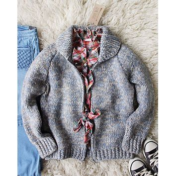 Vintage 60's Hand Knit Nubby Sweater