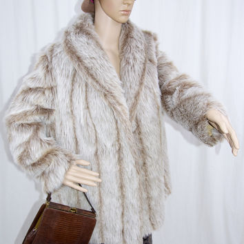 Vintage 1970's Faux Fur Coat by Blair