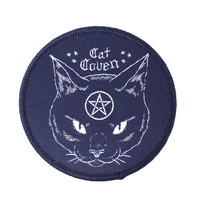 Cat Coven Iron-On Patch