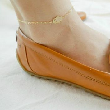New Arrival Ladies Jewelry Shiny Cute Sexy Gift Stylish Simple Design Anklet [8527528775]