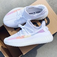 Adidas Yeezy Boost 350 V2 Fashionable Women Men Breathable Running Sport Shoes Sneakers