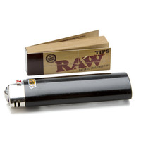 RAW 773 Unbleached Roll-up Tips
