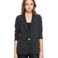 Printed Crepe Blazer by Juicy Couture