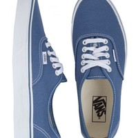 Vans Authentic Canvas Shoes - Navy | SundanceBeach.com
