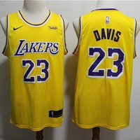 2019-2020 Lakers 23 Anthony Davis Basketball Jersey DCCK