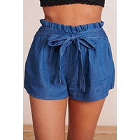 Always A Classic Tie Shorts (Blue)
