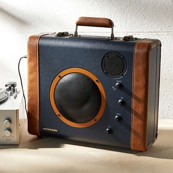 CR8008A Crosley Retro Soundbomb Portable Speaker System - Vintage Suitcase Speakers - Available in Different Colors