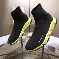 DCCK BALENCIAGA Women Casual Shoes Boots  fashionable casual leather