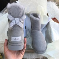UGG Authentic Bailey bow boots