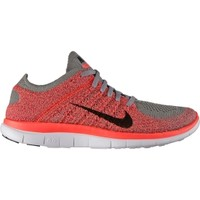 Nike Women's Free 4.0 Flyknit Running Shoe - Blue/Green | DICK'S Sporting Goods