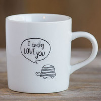 Turtle-y Love You Thought Bubble Mug