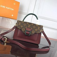 new lv louis vuitton womens leather shoulder bag lv tote lv handbag lv shopping bag lv messenger bags 603