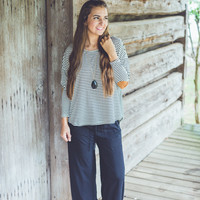 Carolina Palazzo Pants in Black