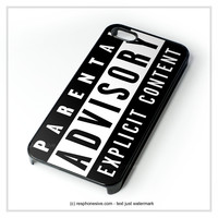 Parental Advisory iPhone 4 4S 5 5S 5C 6 6 Plus , iPod 4 5 , Samsung Galaxy S3 S4 S5 Note 3 Note 4 , HTC One X M7 M8 Case