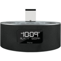 Ihome Dual-charging Stereo Fm Clock Radio With Lightning Connector