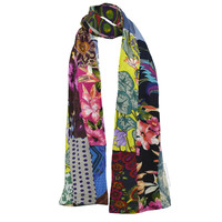 Knit Patch Scarf on Sale for $24.95 at HippieShop.com