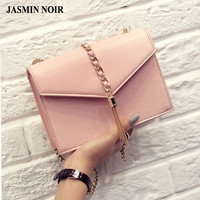 2016 summer new fashion Women Messenger Bag Chain tassel bag crossbody Bag Brand designer Luxury Cute High quality Bag Ladies