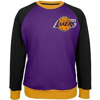 Los Angeles Lakers - Creewz Plus Size Crew Neck Sweatshirt