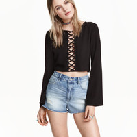 Short Blouse - from H&M