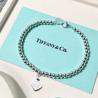 TIFFANY Women Fashion Chain Bracelet Jewelry-8
