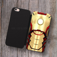 iron Man Body arc reactor Wallet Leather Case for iPhone 4s 5s 5C SE 6S Plus Case, Samsung S3 S4 S5 S6 S7 Edge Note 3 4 5 Cases