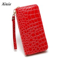 USPS XINIU Hot New Fashion Design Best Selling Women Wallet Stone Road Wallet Coin Bag Purse Phone Bag Change Pouch Key Holder