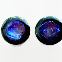 Opal Fire Plugs sizes 2g - 2 Inches Double Flare or Single Flare