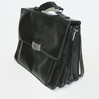 Ladies Leather Bag / Black Leather Bag / Handbags 100% Leather / Bag Every Day / Gift Idea for  Woman / Leather Bag