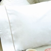 Egyptian Cotton Personalized Name, Initial or Monogram Pillow Case